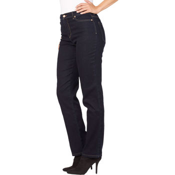 d97987db79a Gloria Vanderbilt Ladies  Amanda Stretch Denim Jean – Dark Blue Wash ...
