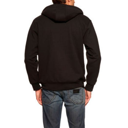 Weatherproof vintage men s full zip sueded fleece hoodie for Weatherproof vintage men s lightweight flannel shirt