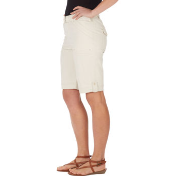 Short Vanderbilt Ladies' White Gloria Sierra Bermuda Belted gvIYf7b6y