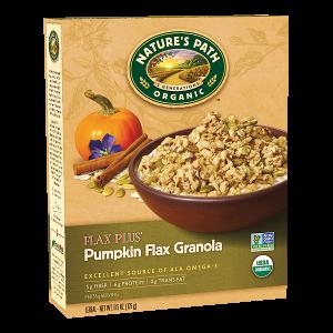 Flax Plus® Pumpkin Flax Granola1