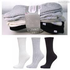 Carole Hochman Ladies' 3 Pair Ribbed Lounge Sock1