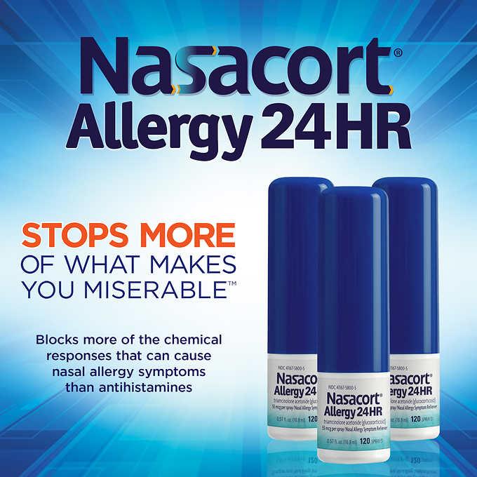 Nasacort Allergy 24hr 360 Spray Count My Online Store