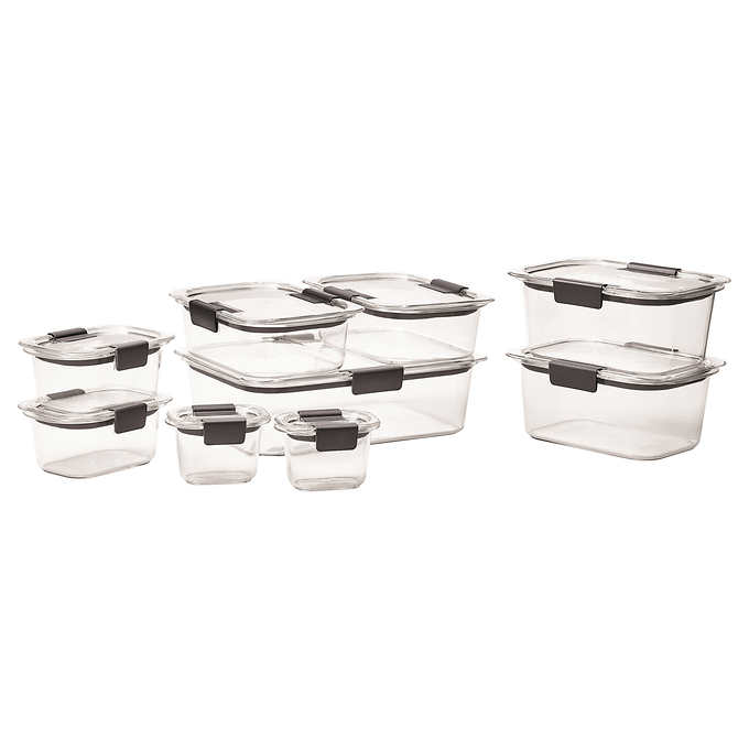 rubbermaid brilliance 18 piece food storage set my online store. Black Bedroom Furniture Sets. Home Design Ideas