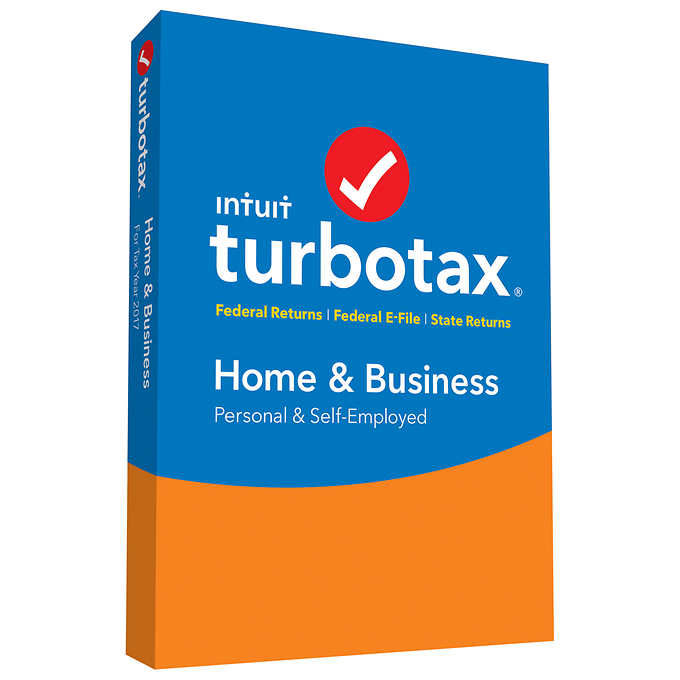 intuit turbotax home business 2017 my online store