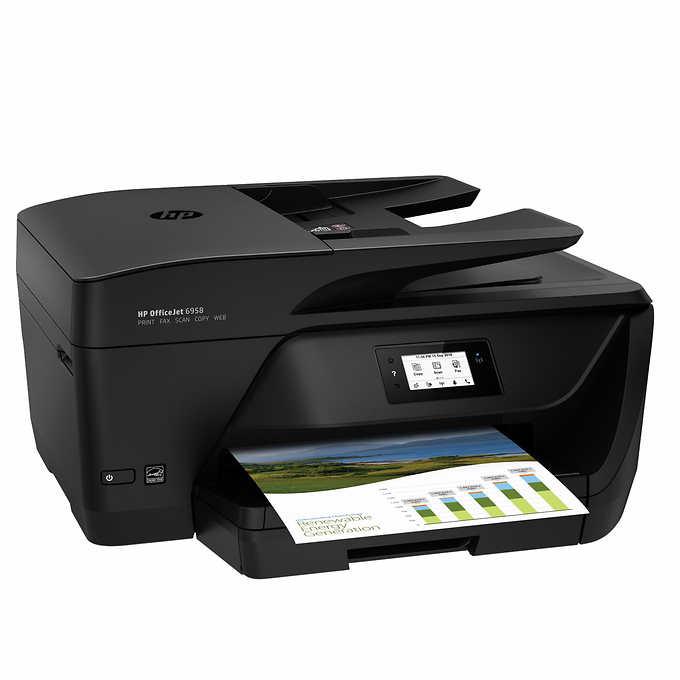 HP Officejet Pro 6958 All-in-One Color Inkjet Printer | My ...