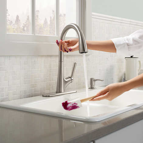 Kohler Malleco Touchless Pull Down Kitchen Faucet With Soap Dispenser My Online Store Dba Expo Int L