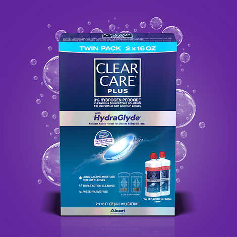 Clear Care Plus Cleaning & Disinfecting Solution, 32 Ounces