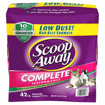 6e1a7a9c5e36 Scoop Away Complete Performance, Scented Cat Litter, 42 Pounds   My ...