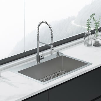 American Standard Culver Welded Kitchen Sink And Semi Pro